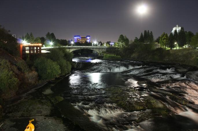 Spokane Canada Island Riverfront Park