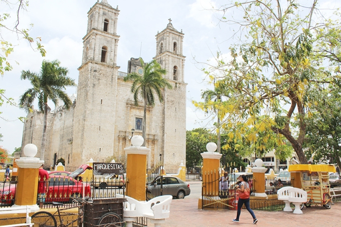road-trip-chichen-Itza-valladolid-Church
